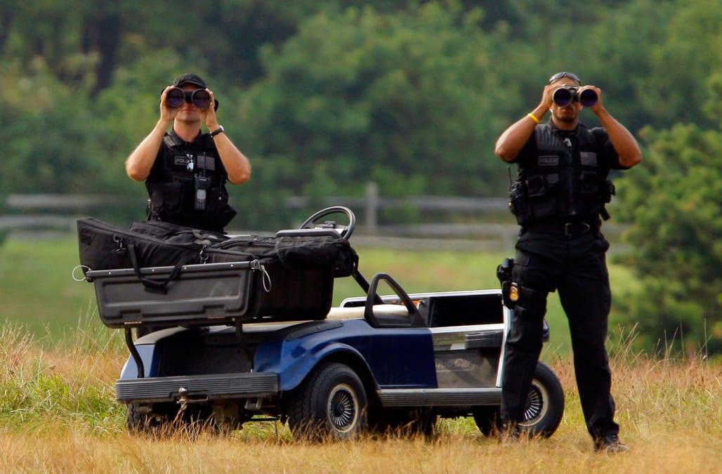 Image result for trump secret service watch golf