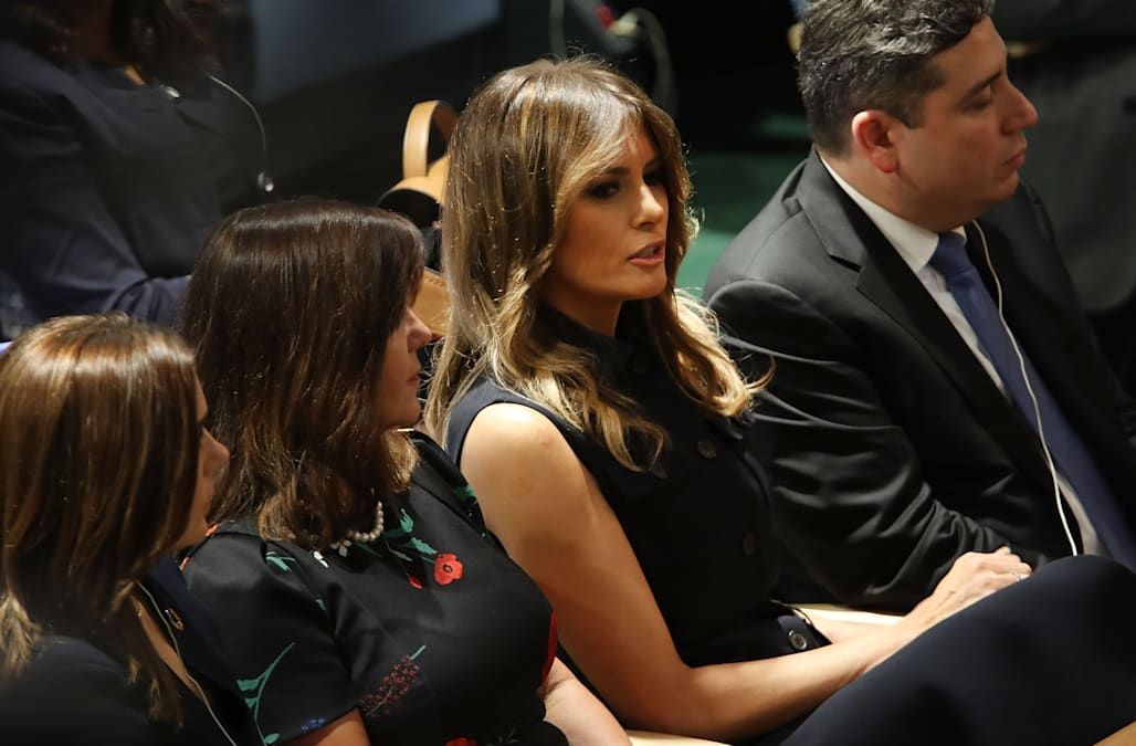 a00841a7249 Princess Mary appears unimpressed as she sits near Melania during Trump s  U.N. speech