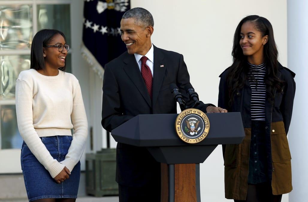 Sasha Obama Stuns At Sweet 16 Celebration With Family And Friends