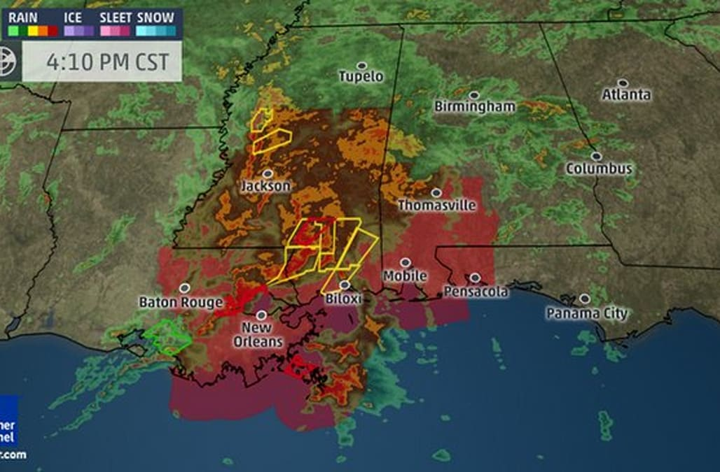 Particularly dangerous situation tornado watch issued