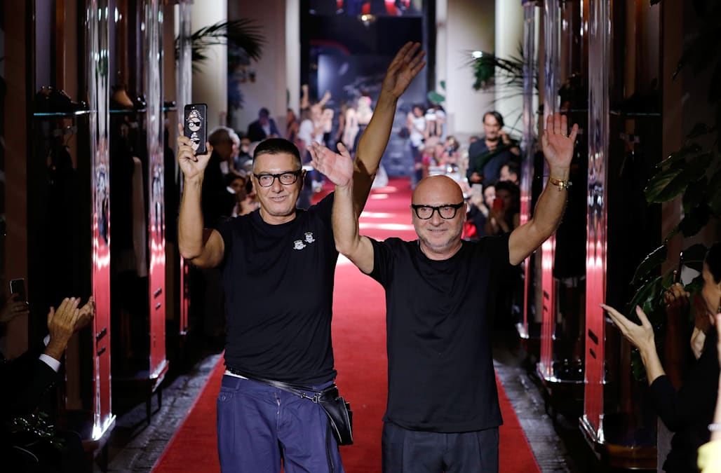 """976aacc13382 Stefano Gabbana of Dolce   Gabbana claims sexual harassment is """"not  violence"""""""