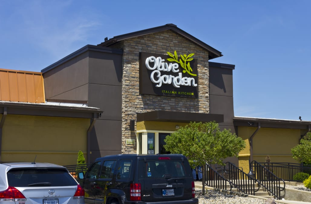 the company that owns olive garden just placed a 780 million bet on a tiny restaurant chain - Olive Garden Francise