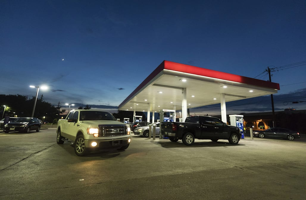 Gas prices spike as Hurricane Harvey readies to make