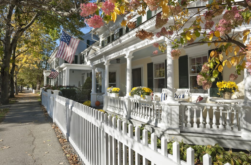 The Prettiest Small Towns In New England AOL Lifestyle - Us quaint towns map