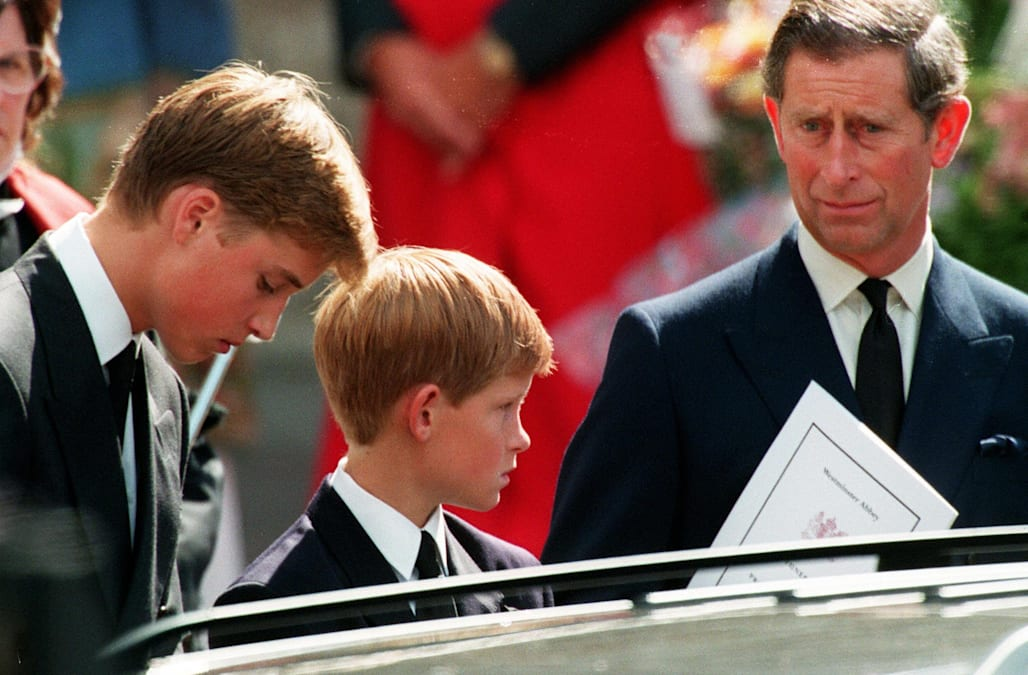 Prince Harry to Prince Charles after Diana's death: 'Is it