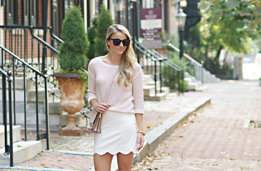 Street style tip of the day: Blush flats - AOL Lifestyle