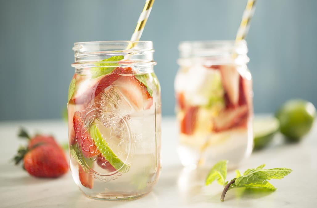 Cocktail of the Week: Strawberry Rhubarb Rosé Sangria ...