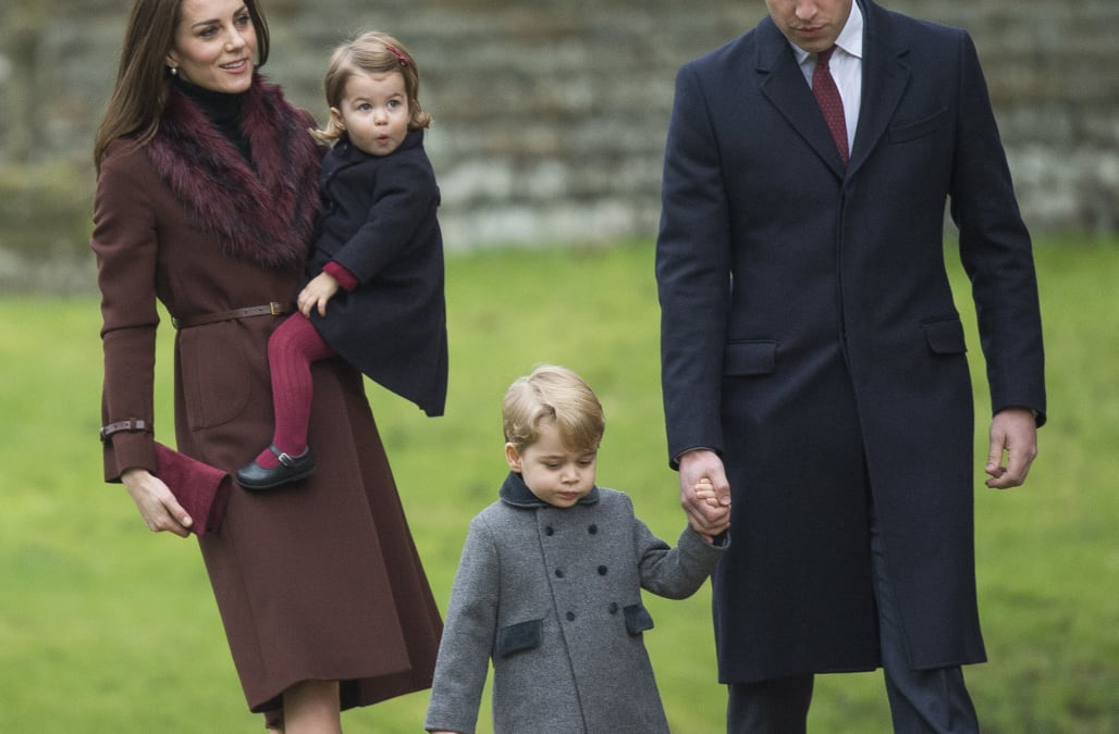 kate middleton prince william and family attend christmas services - Kate Middleton Christmas
