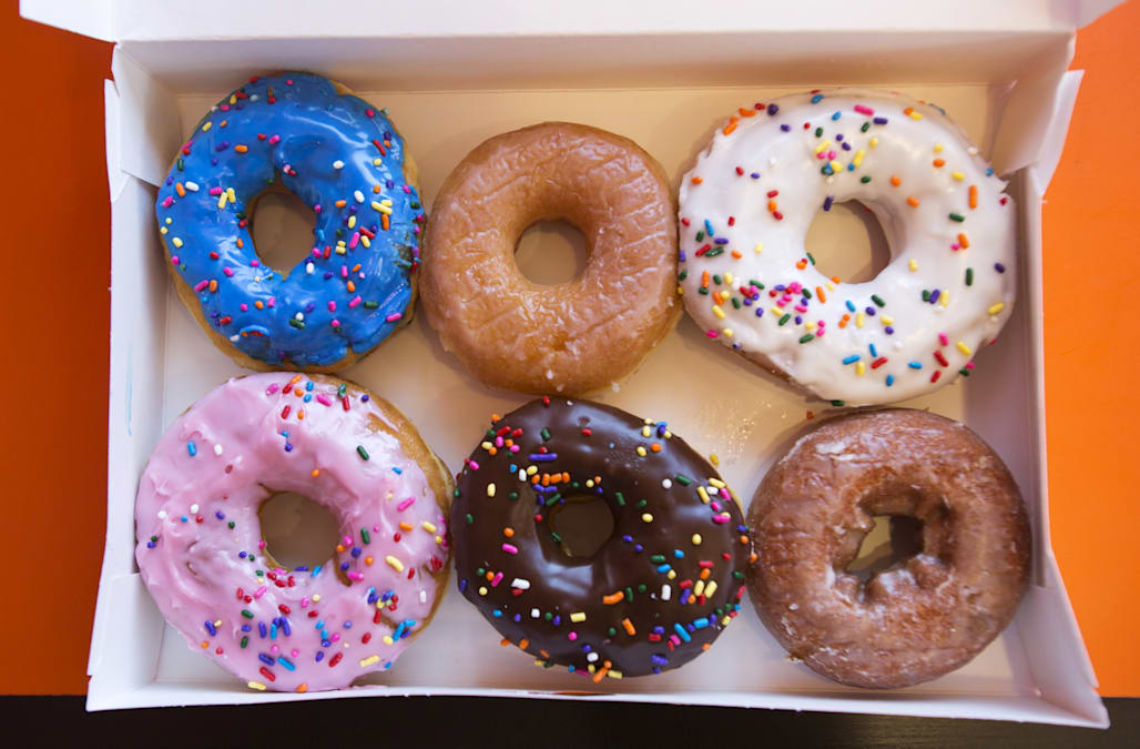 Dunkin\' Donuts ditches artificial food coloring in its donuts ...