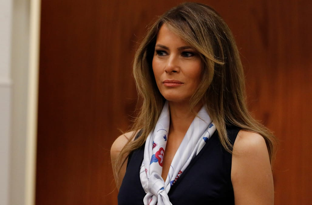Donald Trump shares sweet message for Melania Trump's ...