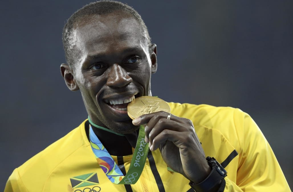 Jamaicas Usain Bolt Has Lost One Of His Nine Olympic Gold Medals And Perfect Triple Treble Games Sprint Victories After Teammate Nesta Carter Was
