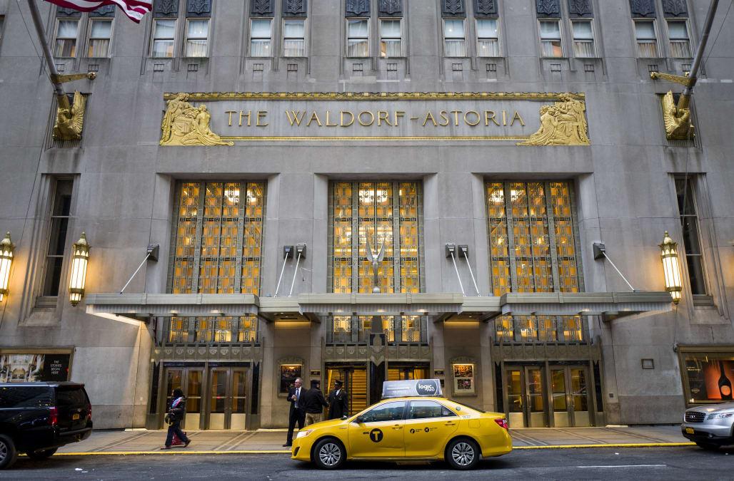 new york citys historic waldorf astoria closes for major