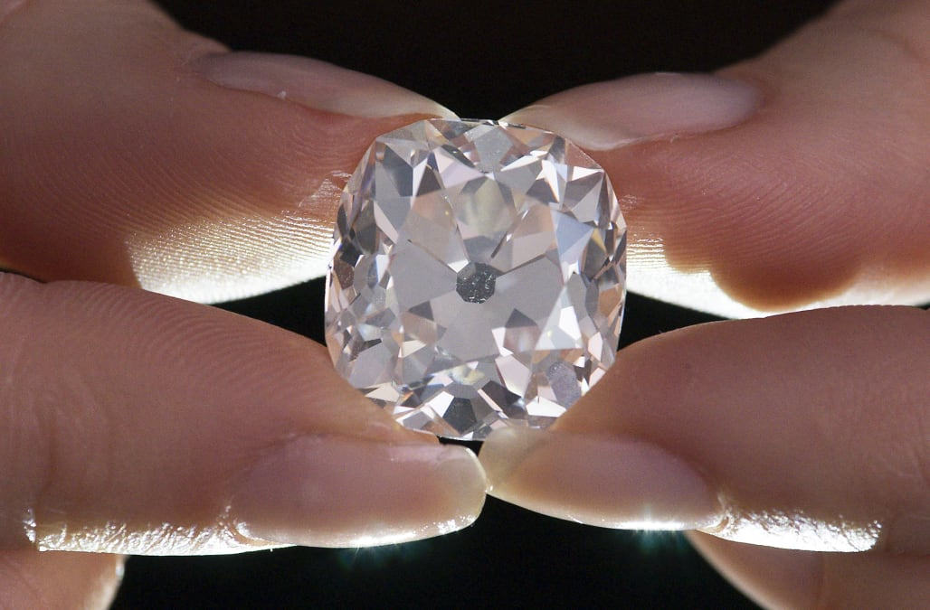 at to auction fetch expected diamond watch carat with bought