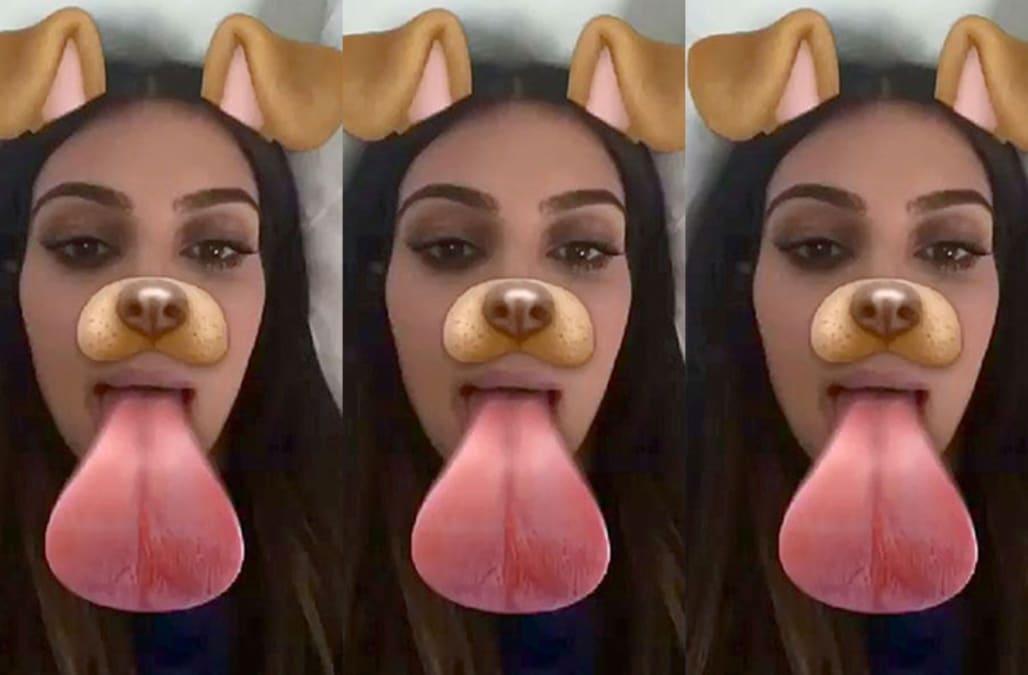 How to get the secret, Kim Kardashian-inspired Snapchat filter - AOL