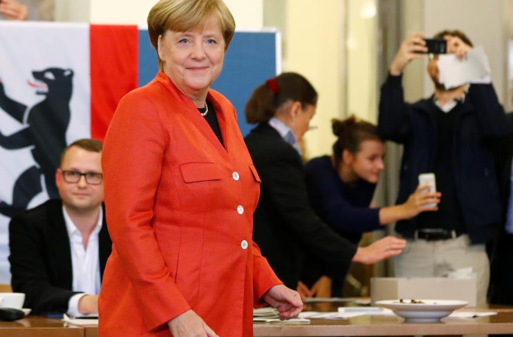 Merkel wins fourth term as far-right enters German parliament