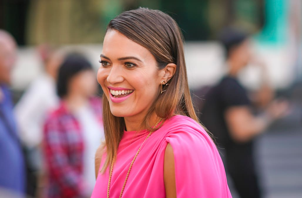 86765990777d Mandy Moore's complete style transformation: from plaid skirts to red  carpet goddess