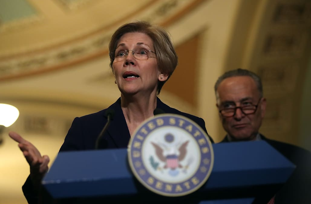 Sen  Elizabeth Warren rebukes 2016 Obama comment: 'The system is as