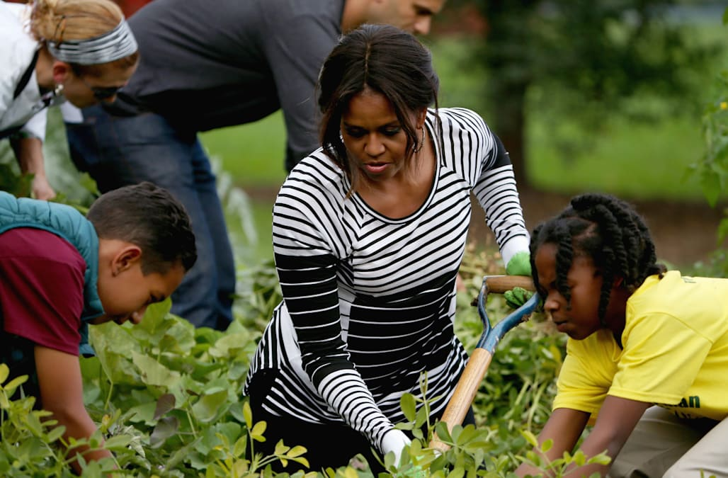 First Lady Melania Trump Will Preserve Michelle Obamas Garden At