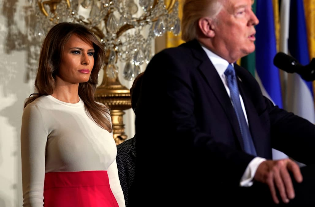 8b8d4327f Melania Trump is making a key mistake that makes her less admired than  Michelle Obama. Business Insider