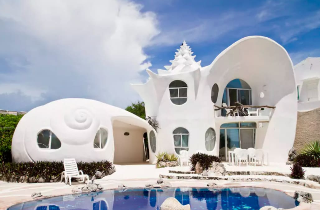 The Famous Seashell House Is Now Available For Rent In The Islands