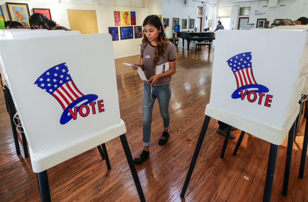 Study Voter Id Laws May Have Blocked 200 000 Voters In One State From 2016 Election