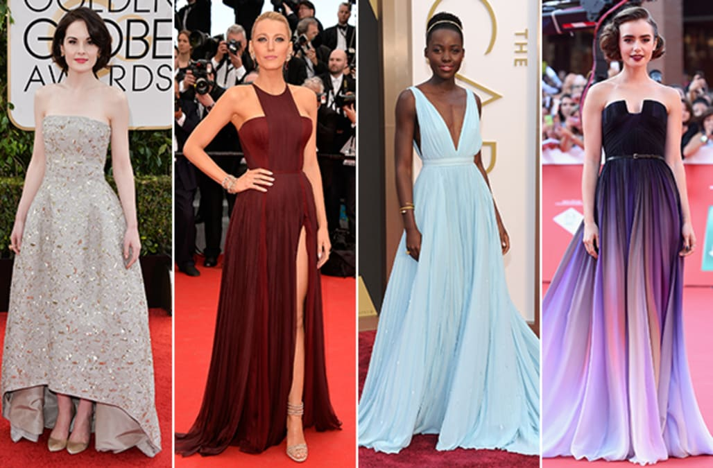 2014 wrapup the years best red carpet looks aol lifestyle