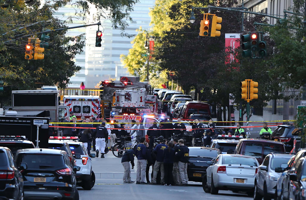 A Ed Home Depot Truck Was Used In Act That Killed At Least Eight People Tuesday