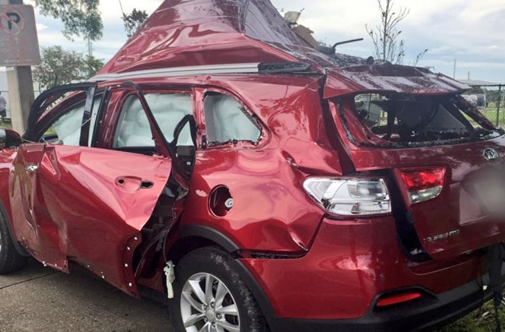 Suv Transporting Bbq Grill Explodes After Woman Lights A Cigarette