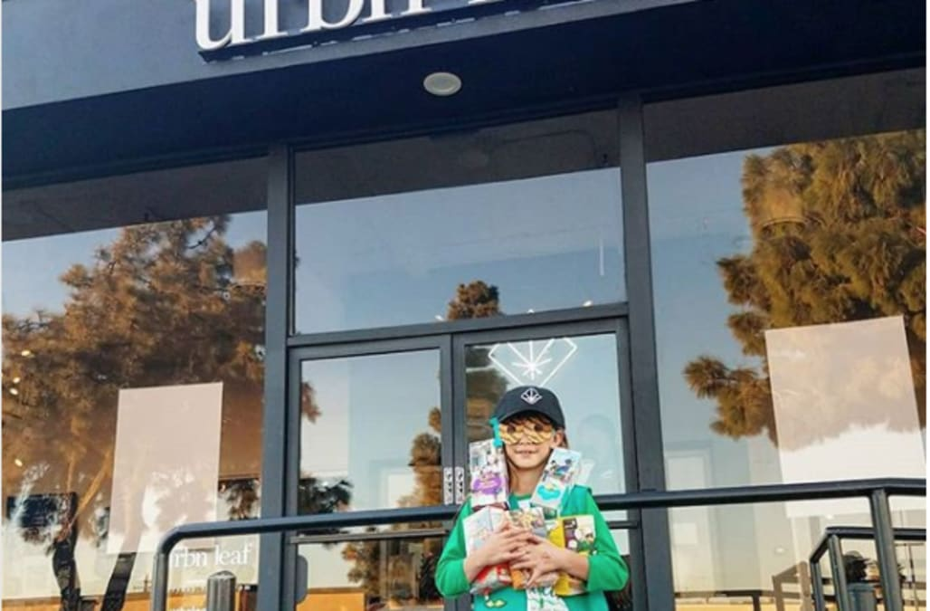Image result for Urbn Leaf Girl Scout Cookies