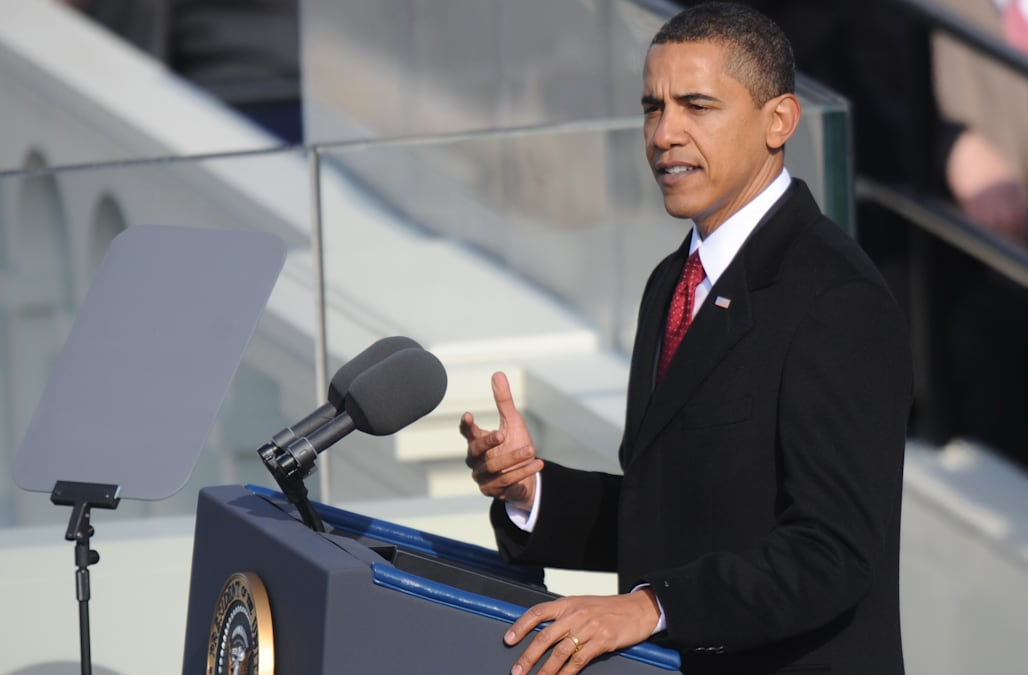 President Barack Obama's first inauguration speech: Full text - AOL News