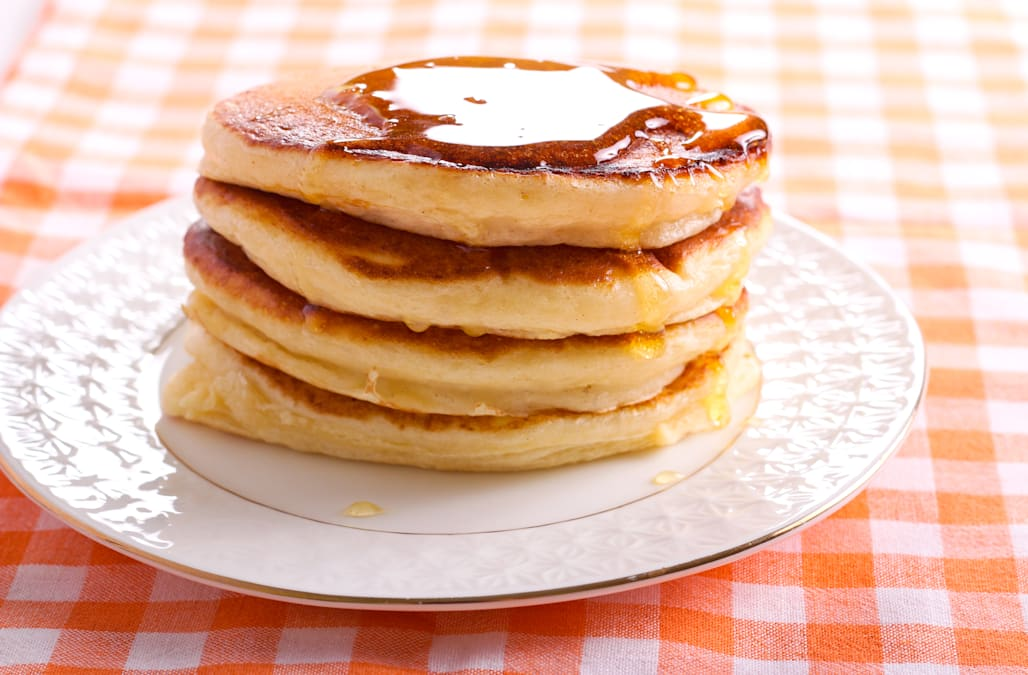 A trick to make any pancakes fluffier aol lifestyle also on a similar note try saying this five times fast hello tongue twister and since we all agree we want our pancakes ccuart Image collections