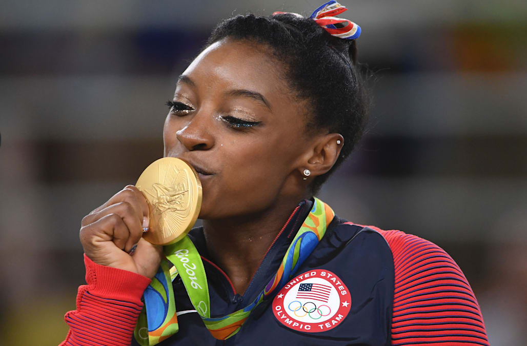 Simone Biles Shuts Down Instagram Troll Who Called Her A