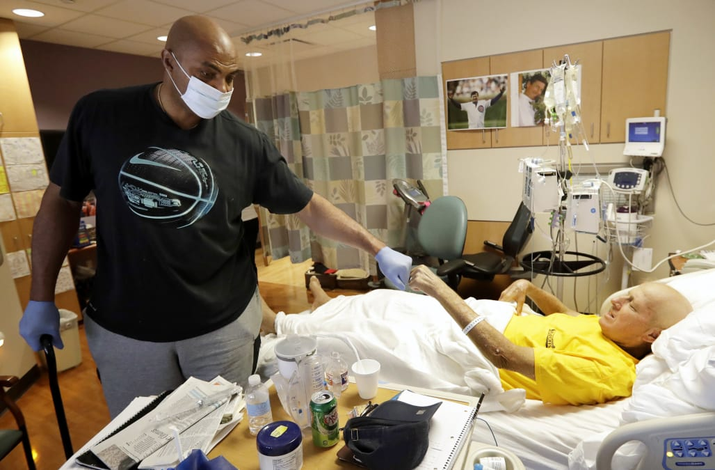 Charles Barkley defied doctors after hip surgery to spend