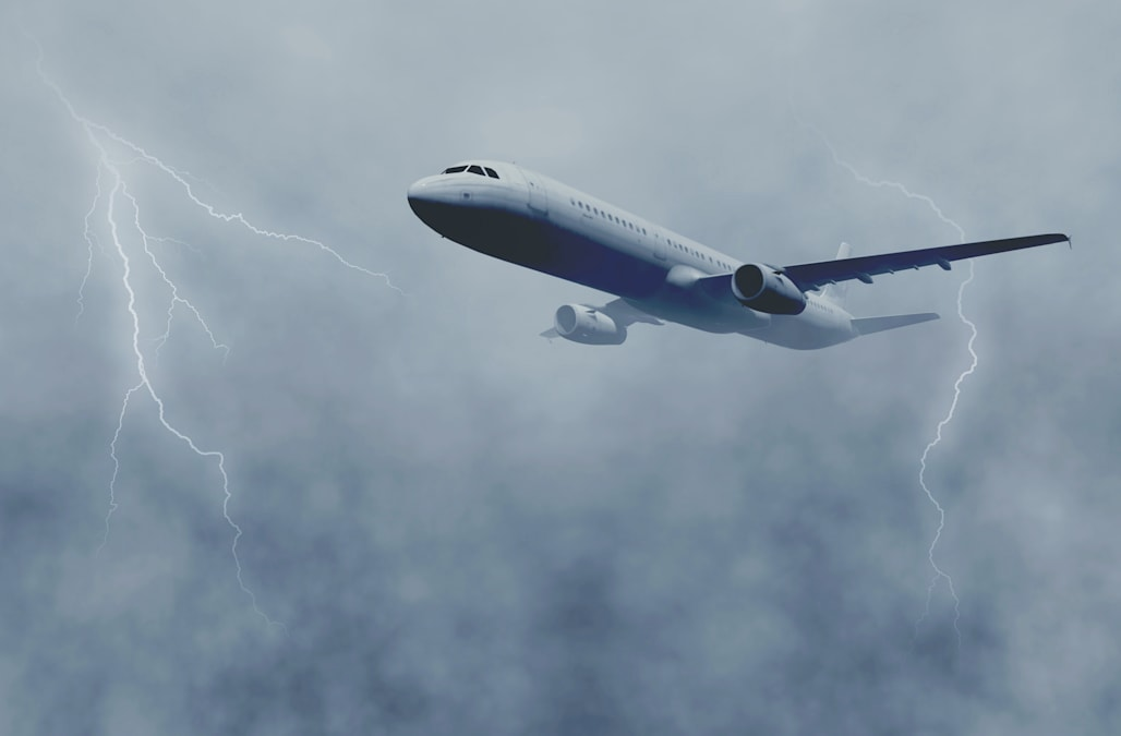this is what happens when lightning strikes a plane aol lifestyle