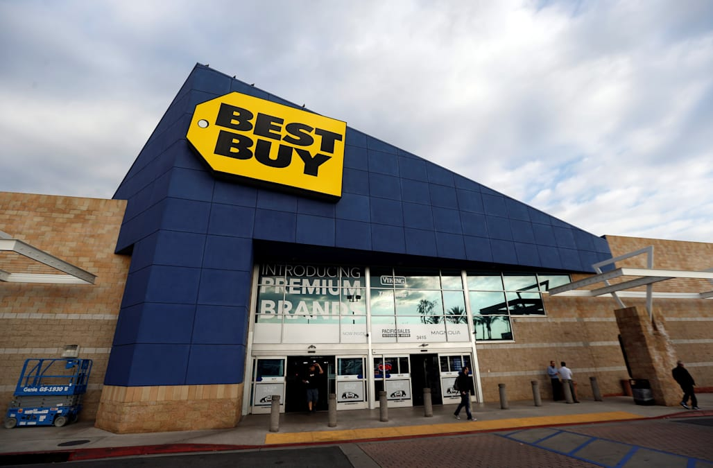 best buy is growing its sameday delivery in its fight against amazon