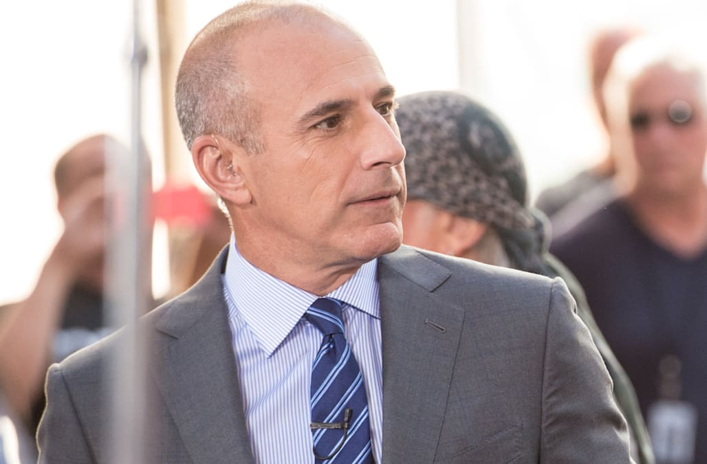 Image result for Matt Lauer Still Welcome at Favorite NYC Restaurant