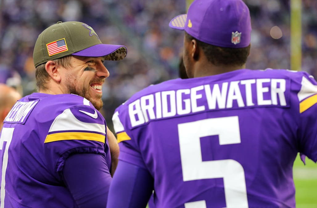 Case Keenum wants to stay with the Vikings after leading Minnesota to the  NFC North division crown and to the conference championship game. bf2f9c4b7