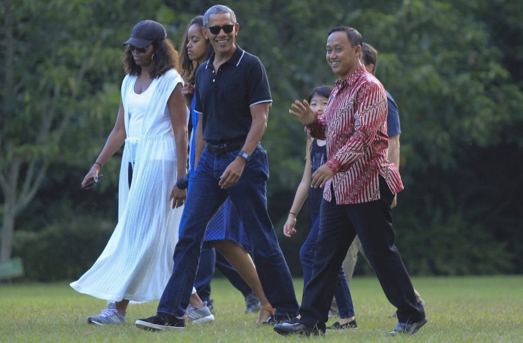 Where Are The Obamas? Former President Obama And Family To Vacation On Martha's Vineyard