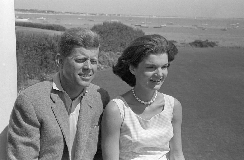 Image result for jf kennedy and wife
