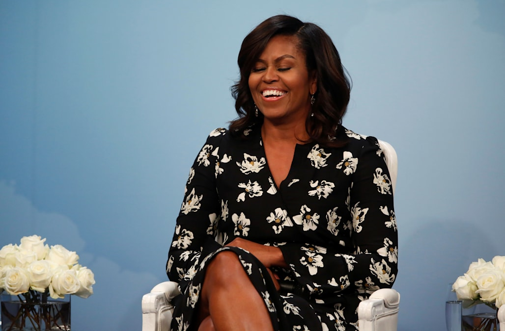 Michelle Obama Looks Just Like Her Daughters In Never Before Seen