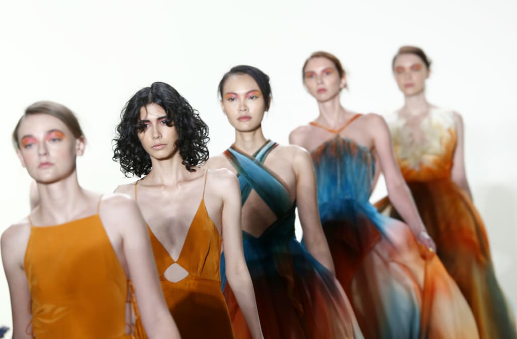 d828f9b4f4b NYFW  Leanne Marshall s whimsical Spring Summer 2018 collection ...