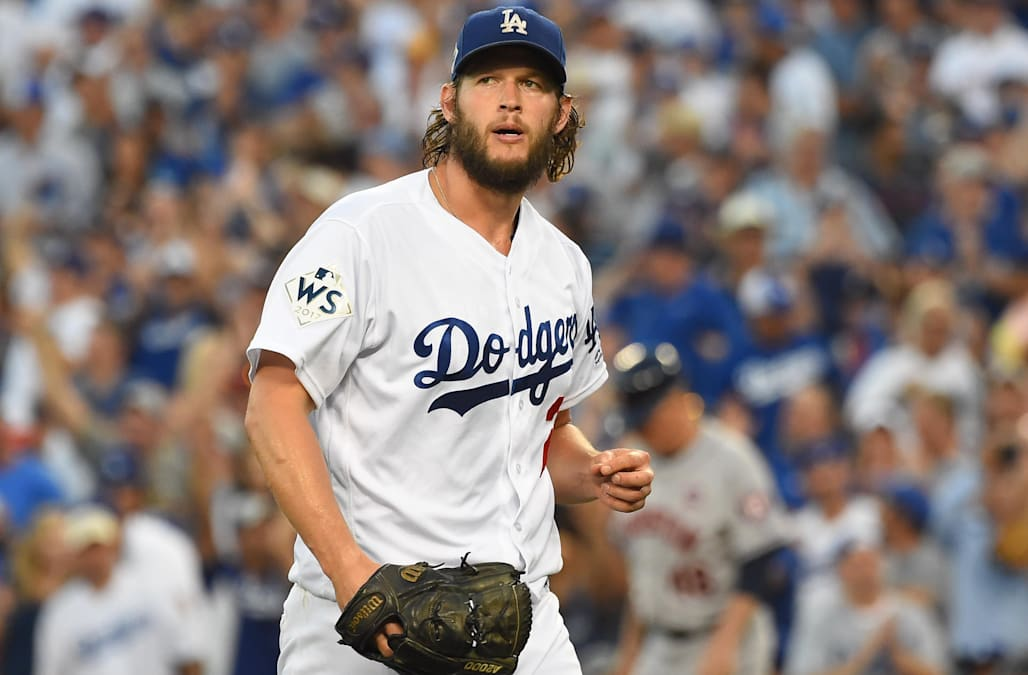 Image result for clayton kershaw World Series game one