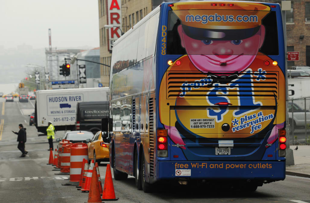 Megabus accident leaves passengers stranded for more than 24 hours