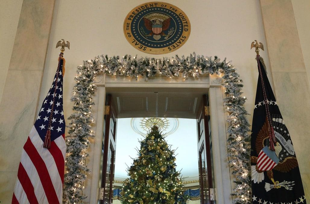 CNN reportedly boycotts White Houseu0027s Christmas party