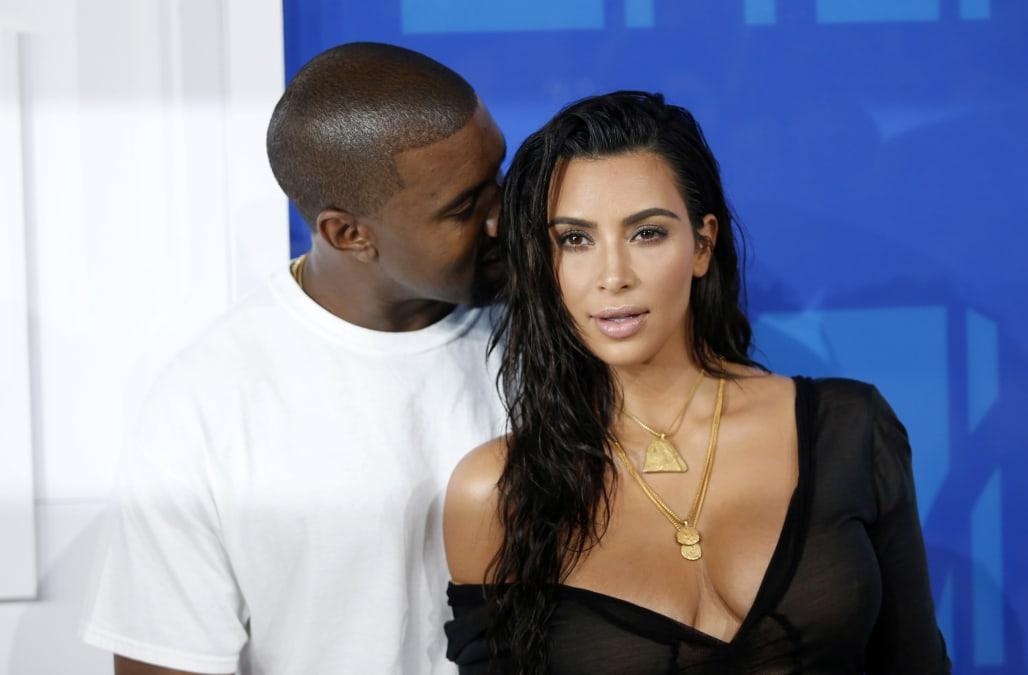 8a925fab2f34 Kim Kardashian shares PDA pic of Kanye West grabbing her butt