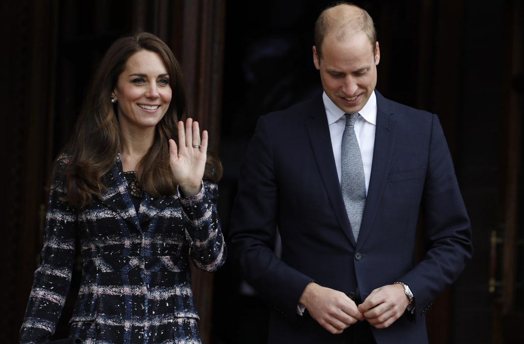 509756c087 Kate Middleton and Prince William won't be spending Valentine's Day together