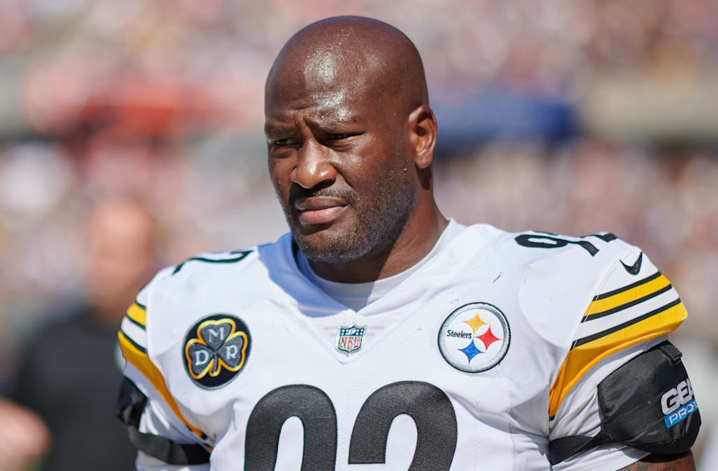95093d1683c Several Pittsburgh Steelers players said veteran linebacker James Harrison  forced the team to cut him last week.