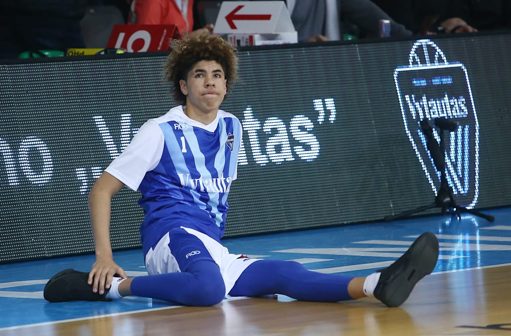 9ec7e57d6f4 LaMelo Ball may not be fondly remembered in Lithuania. The 17-year-old  returned to the country as a member of the Junior Basketball Association on  Monday.