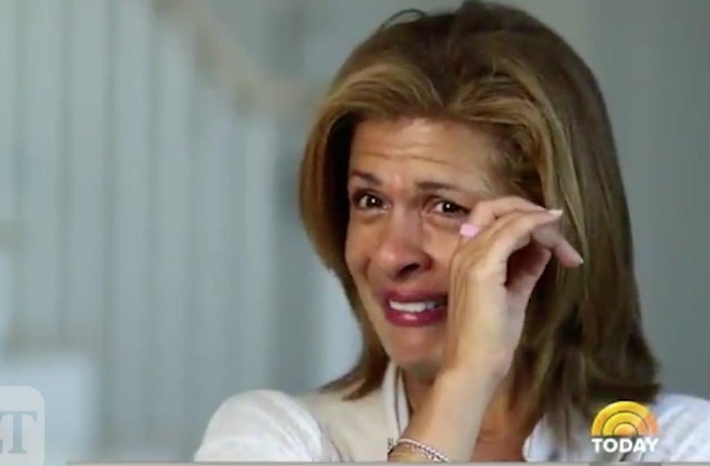 Hoda Kotb breaks down in tears talking about daughter Haley Joy