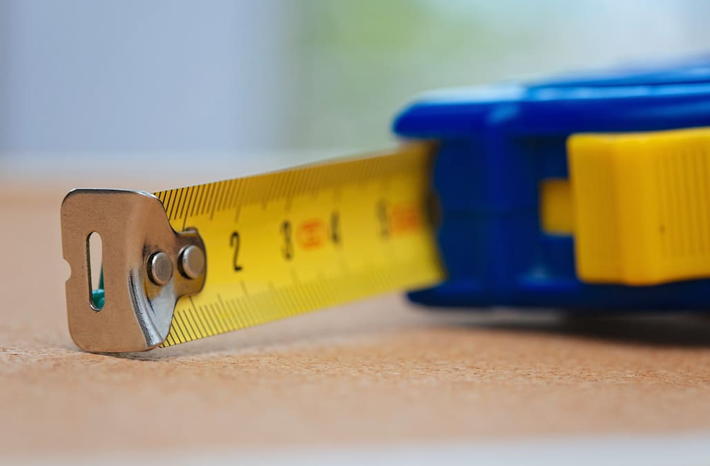 9b06da9d01c06d The secret purpose behind the hole at the end of tape measures - AOL ...